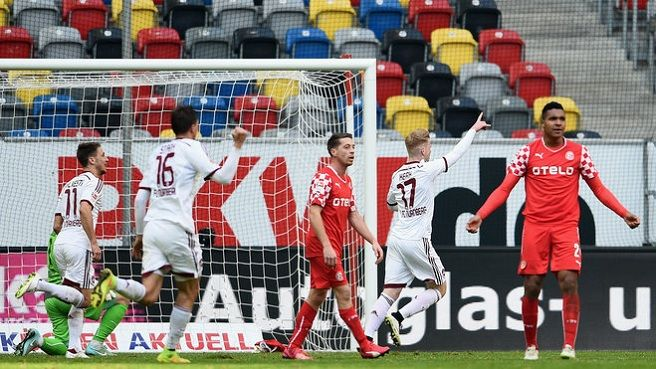 Confruntare în 2.Bundesliga: Fortuna Dusseldorf - FC Nurnberg