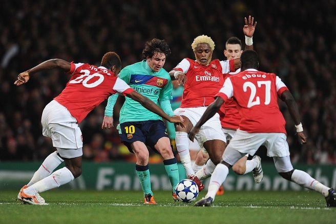 Spectacol în Champions League: Arsenal - FC Barcelona