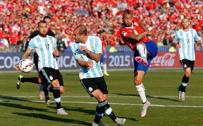 Duel spectaculos în Cupa Americii: Argentina – Chile