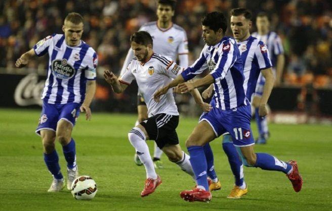 Duel echilibrat în La Liga: Deportivo – Valencia