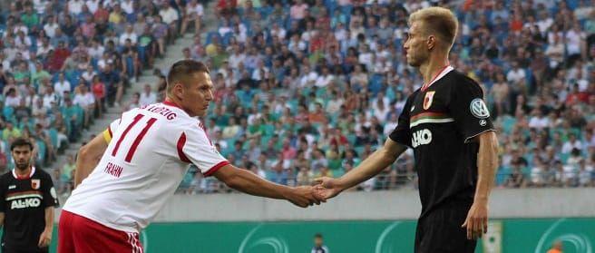 Început de etapă în Bundesliga: FC Augsburg – RB Leipzig