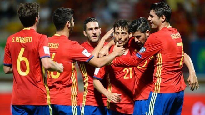 Preliminariile Campionatului Mondial: Spania – Israel