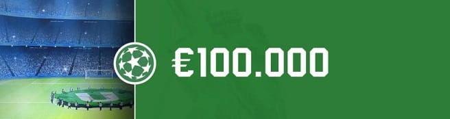 Câștigă €100.000 cu primul tau pronostic gratuit!