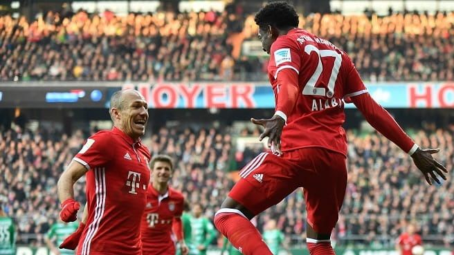 Germania Bundesliga:Bayern Munchen - VfL Wolfsburg