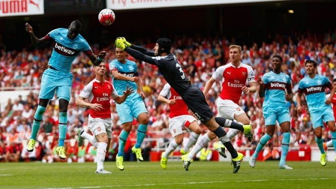 Anglia Premier  League:West Ham - Arsenal