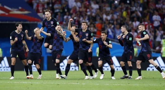 Cupa Mondială: Croaţia - Anglia