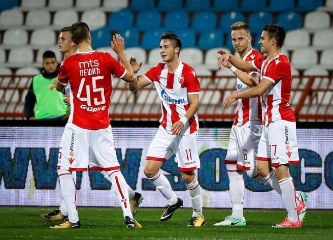 Champions League: Steaua Roşie B. - Spartaks Jurmala