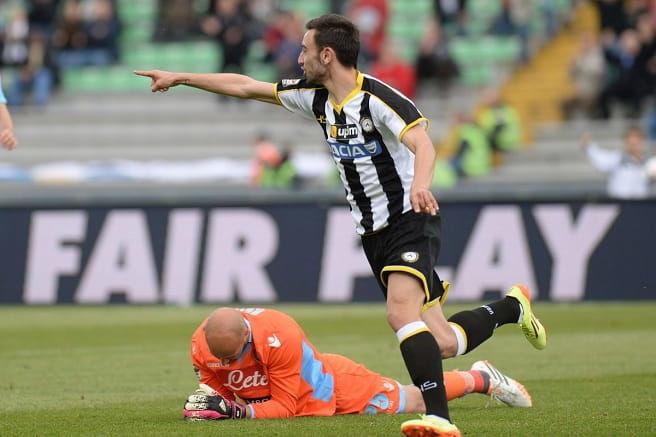 Duel interesant în Serie A: Udinese – SSC Napoli